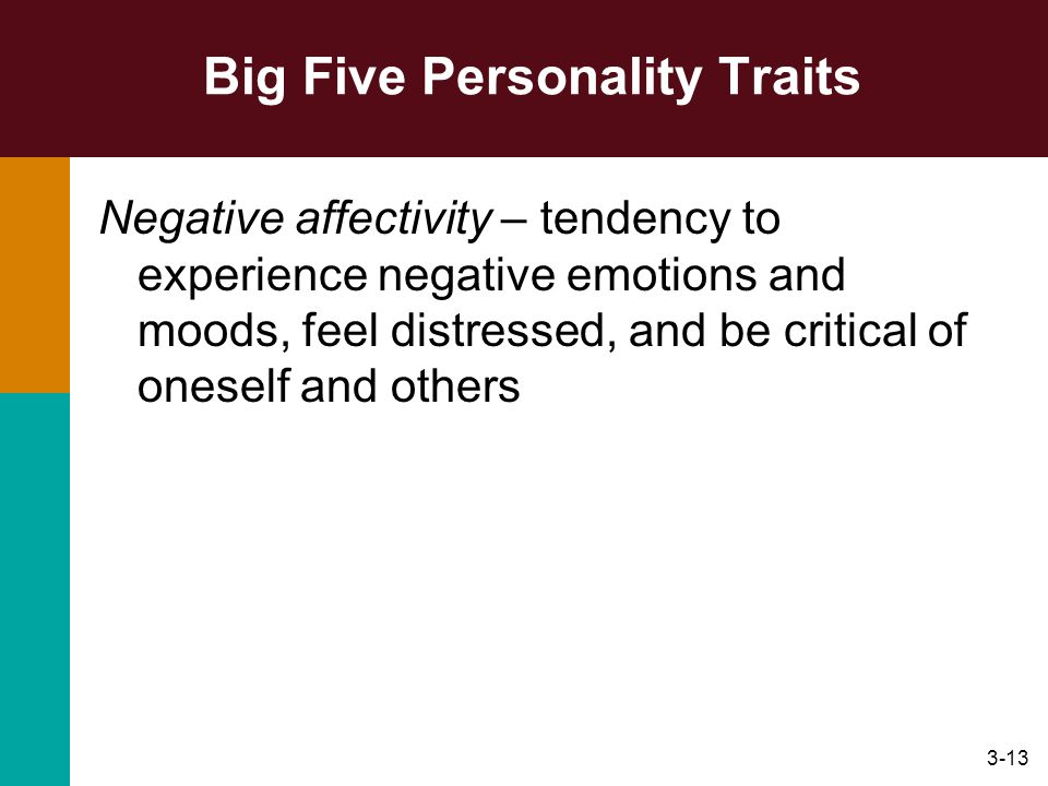 Big Five Personality Traits