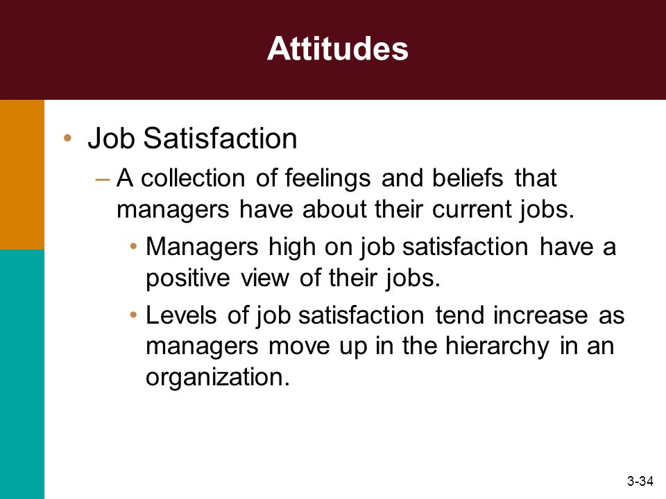 Attitudes Job Satisfaction