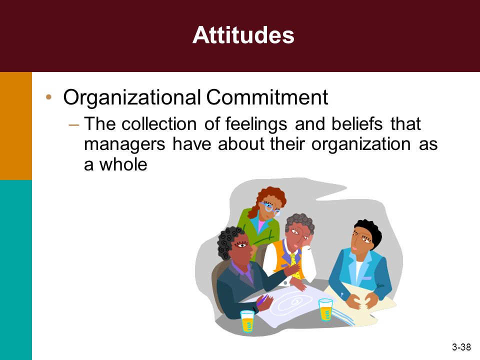 Attitudes Organizational Commitment