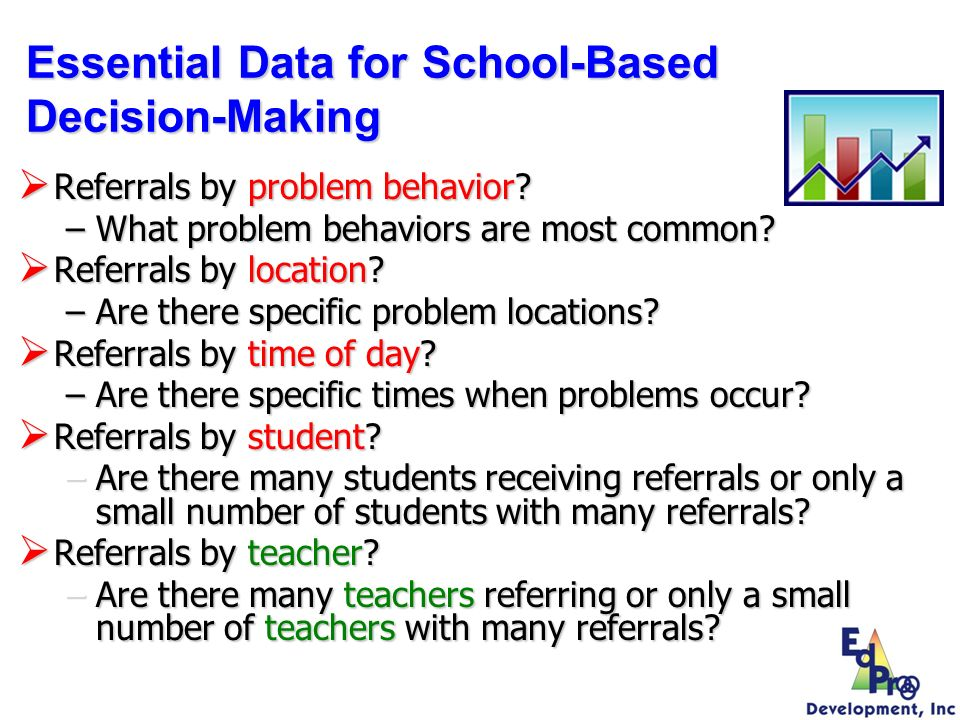 Essential Data for School-Based Decision-Making