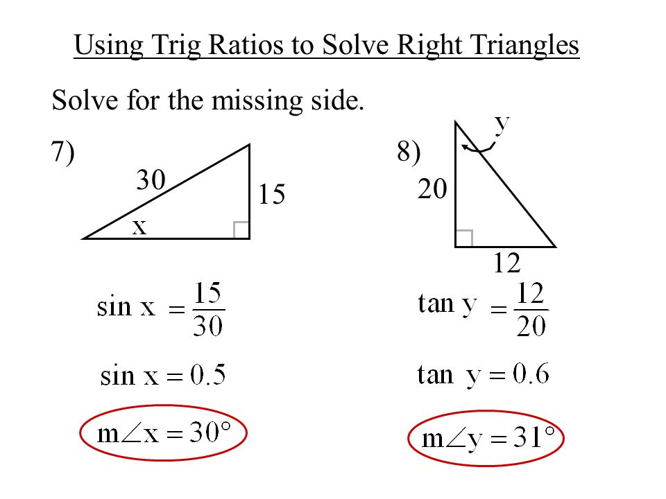 objective to use basic trigonometry to solve right triangles ppt video online download. Black Bedroom Furniture Sets. Home Design Ideas