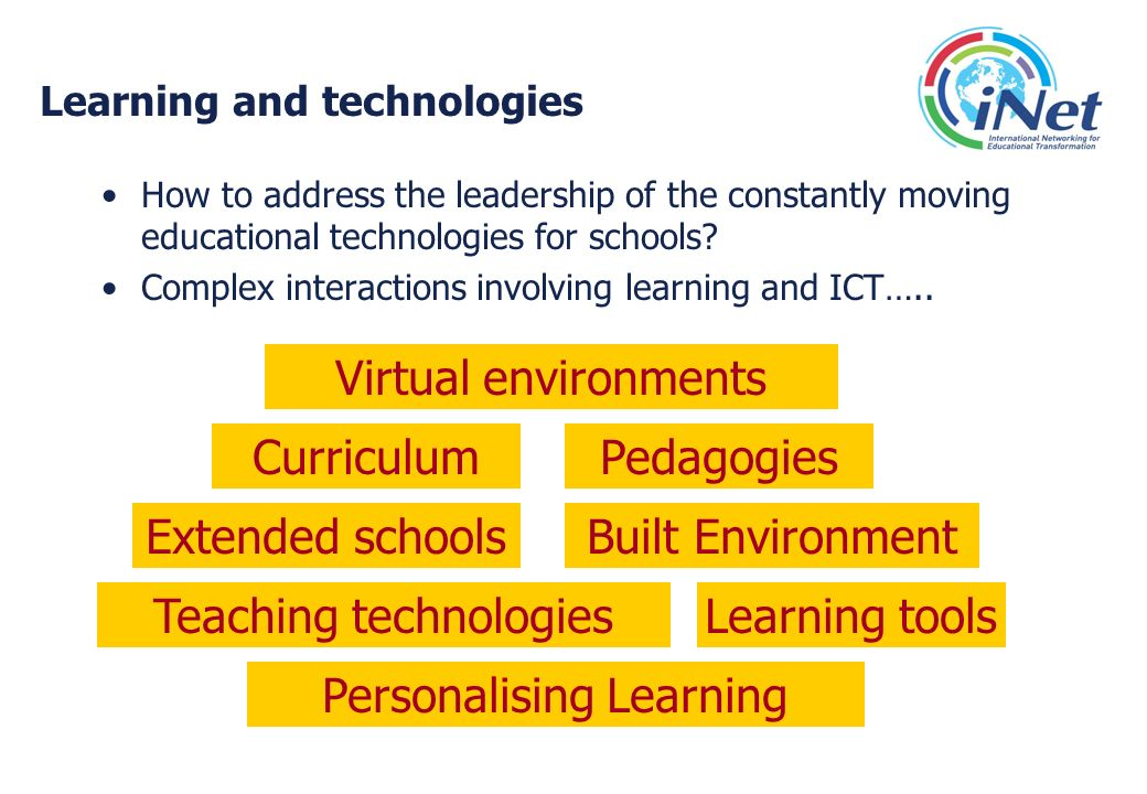 Learning and technologies