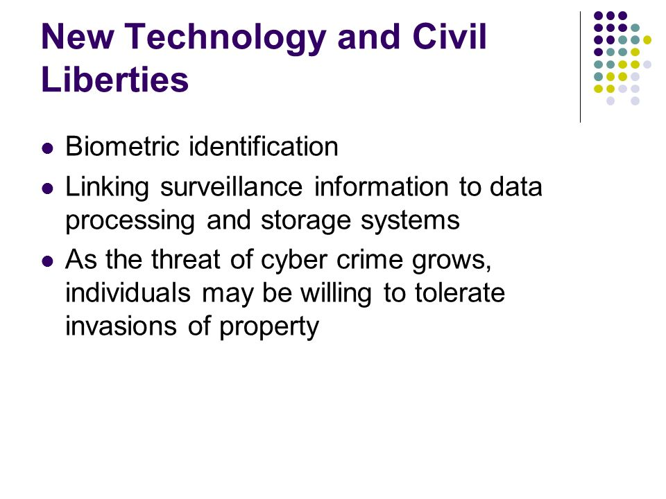New Technology and Civil Liberties