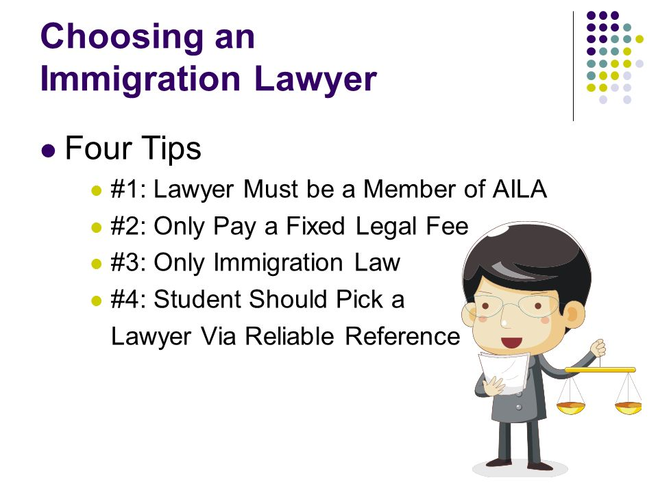 Choosing an Immigration Lawyer