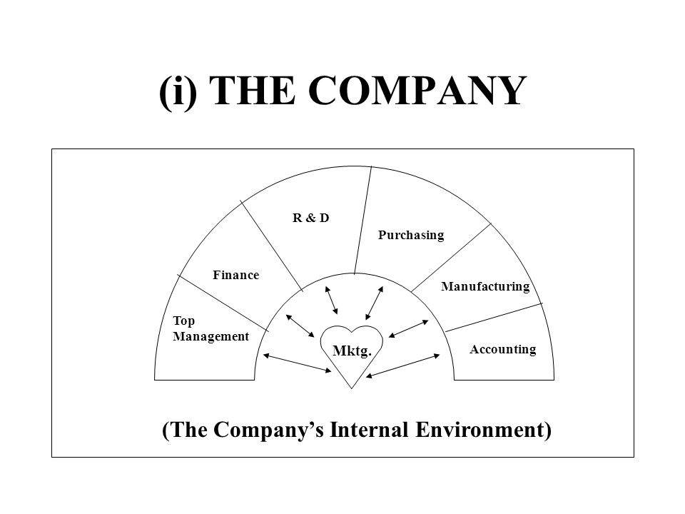 (The Company's Internal Environment)
