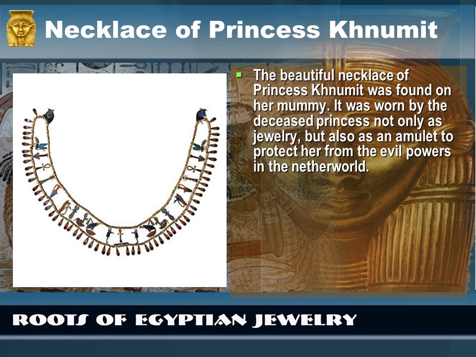 Necklace of Princess Khnumit