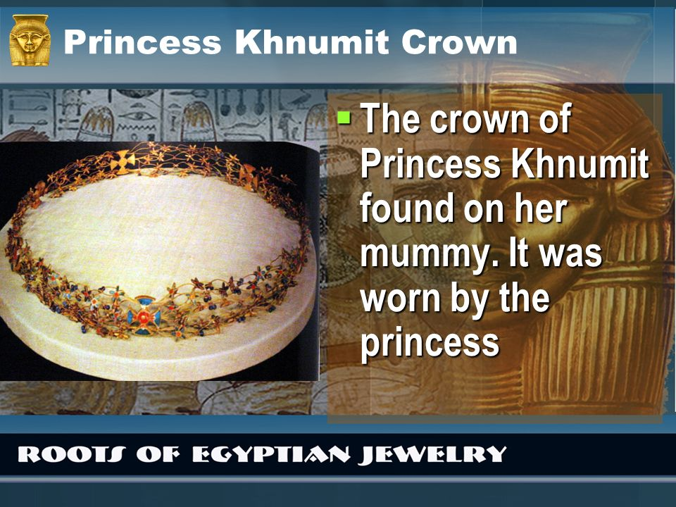 Princess Khnumit Crown