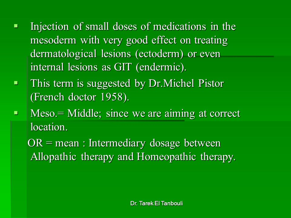 This term is suggested by Dr.Michel Pistor (French doctor 1958).