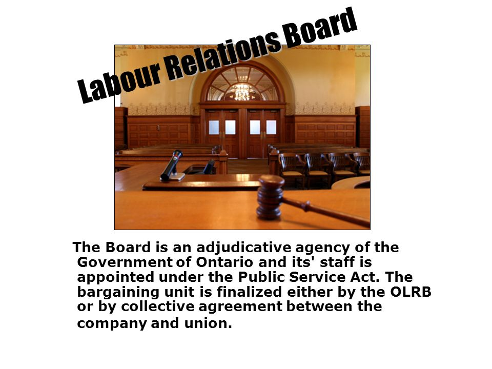 Labour Relations Board
