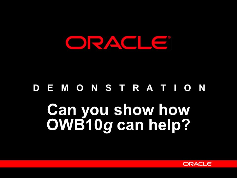 Can you show how OWB10g can help