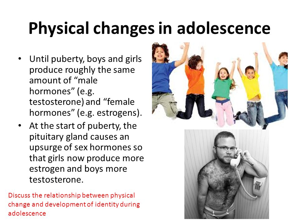physical changes that occur during puberty