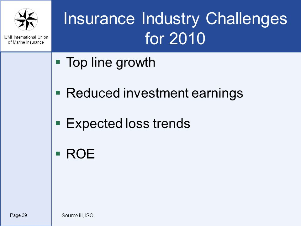 Insurance Industry Challenges for 2010