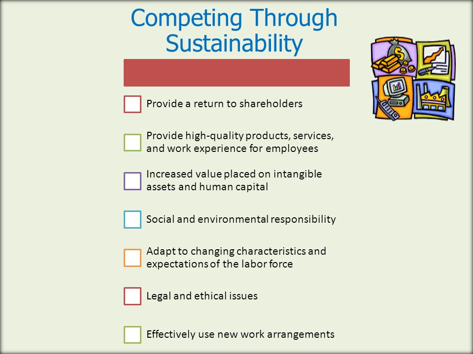 Competing Through Sustainability