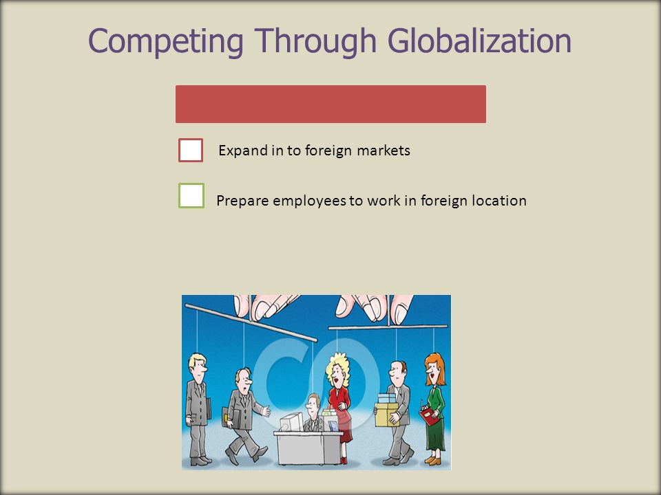 Competing Through Globalization