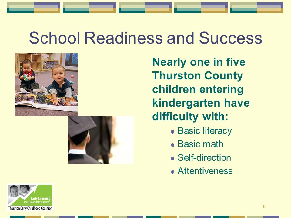 School Readiness and Success