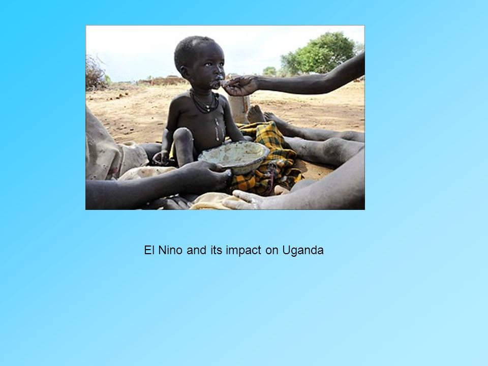 El Nino and its impact on Uganda