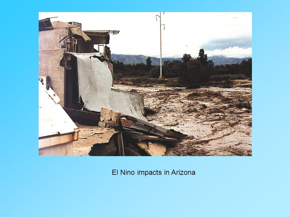 El Nino impacts in Arizona