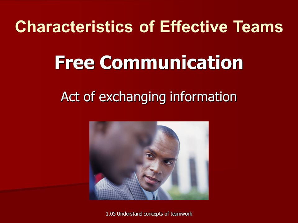 Act of exchanging information