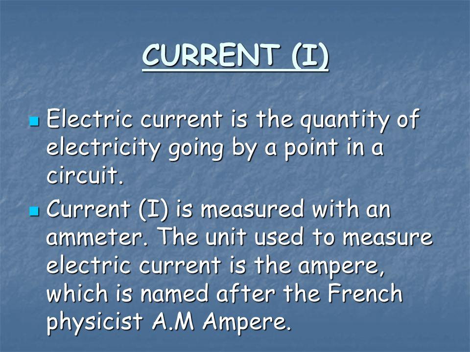 current voltage and resistance pdf