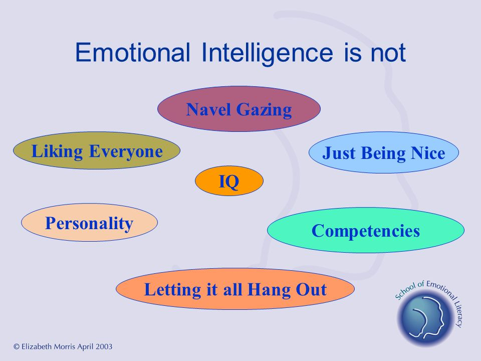 Emotional Intelligence is not