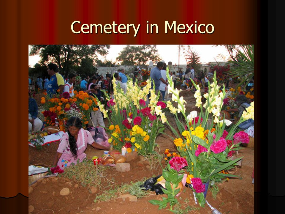 Cemetery in Mexico