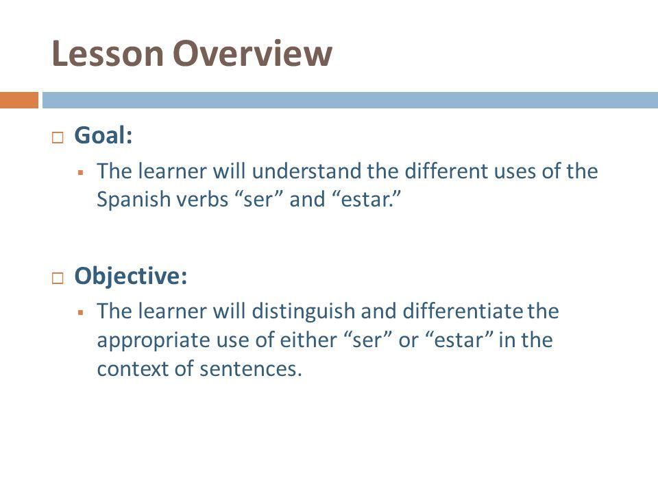Ser Vs Estar Advance Organizer Model Lesson Presentation Ppt Download. Worksheet. Ser Vs Estar Practice Worksheet At Mspartners.co