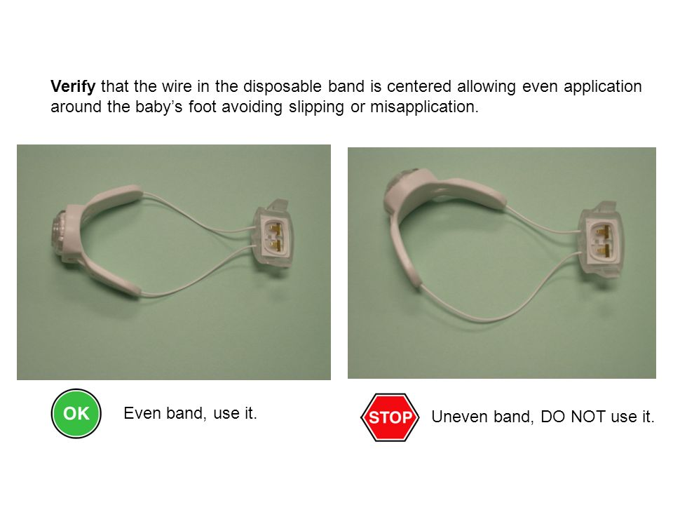 Uneven band, DO NOT use it.