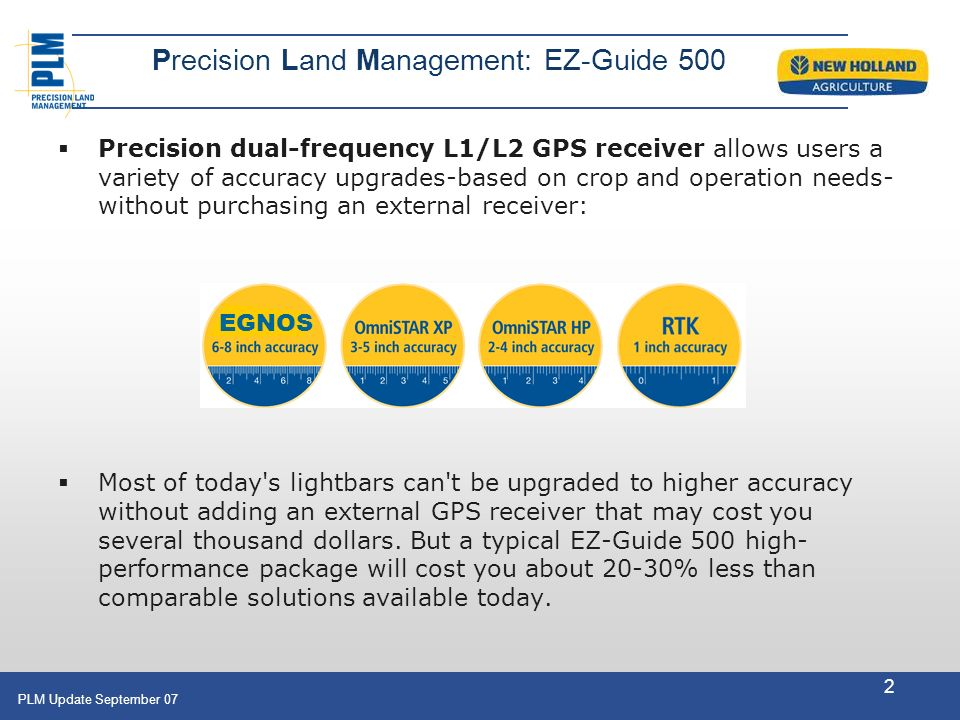 Precision Land Management: EZ-Guide 500