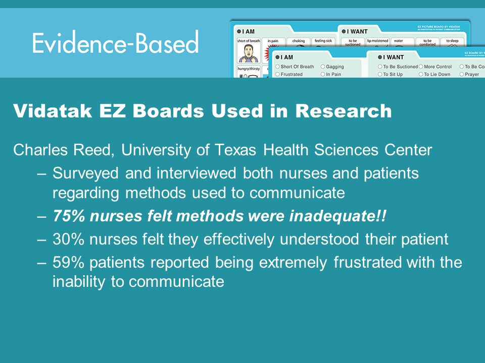 Vidatak EZ Boards Used in Research