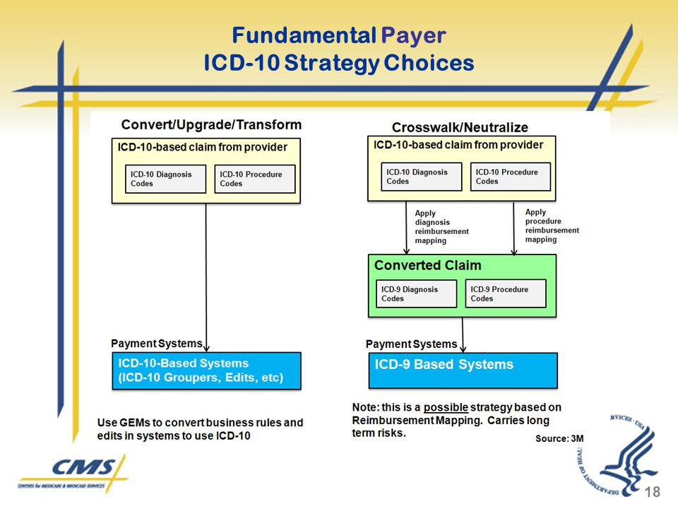 Fundamental Payer ICD-10 Strategy Choices