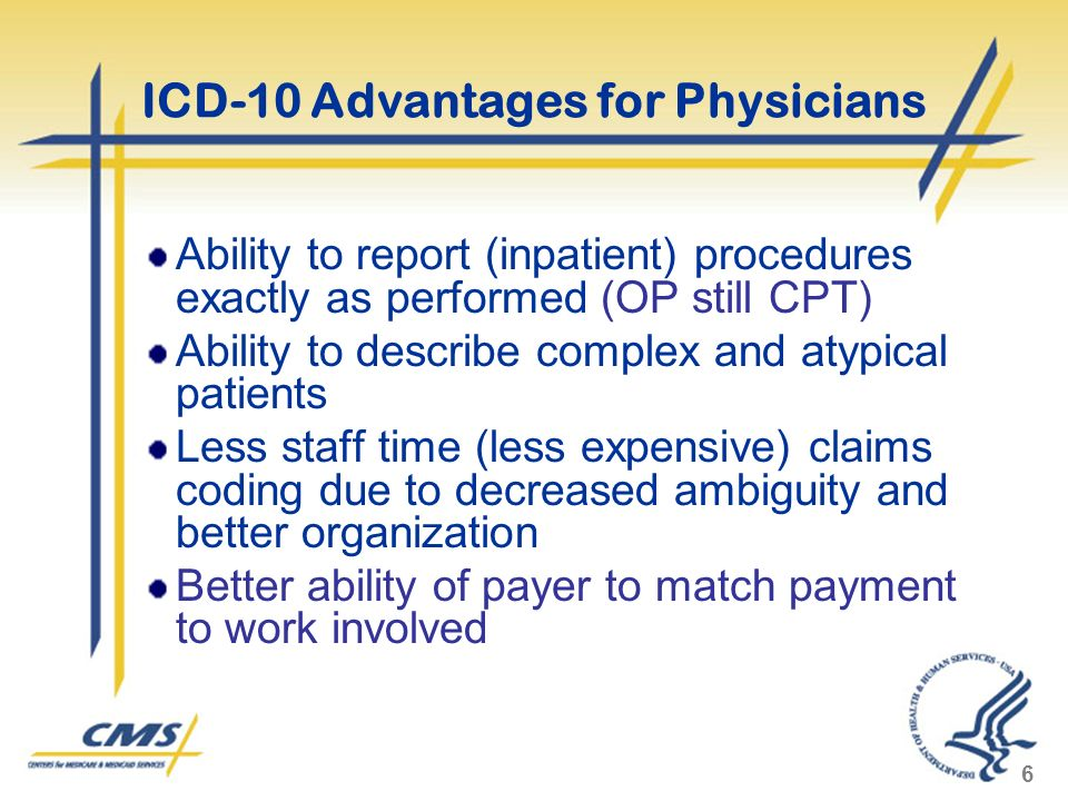 ICD-10 Advantages for Physicians