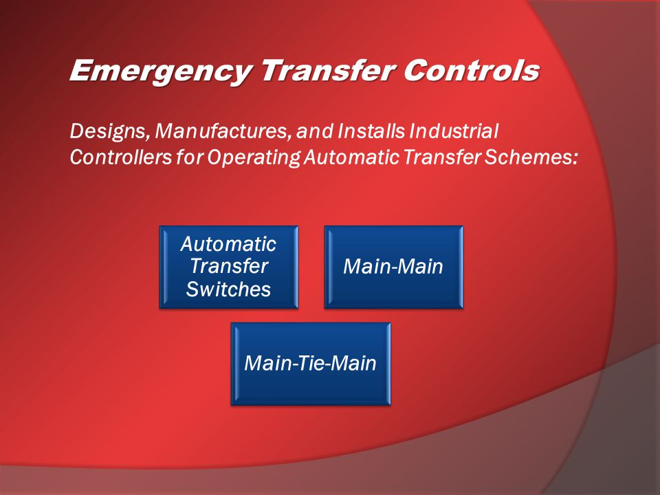 Switchgears and controls | powergen controls llc.