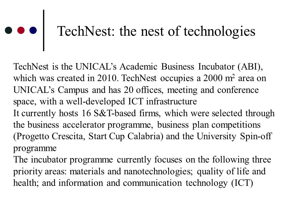 TechNest: the nest of technologies