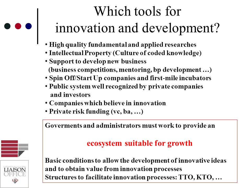 ecosystem suitable for growth