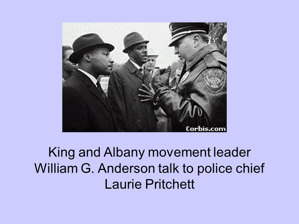 King and Albany movement leader William G