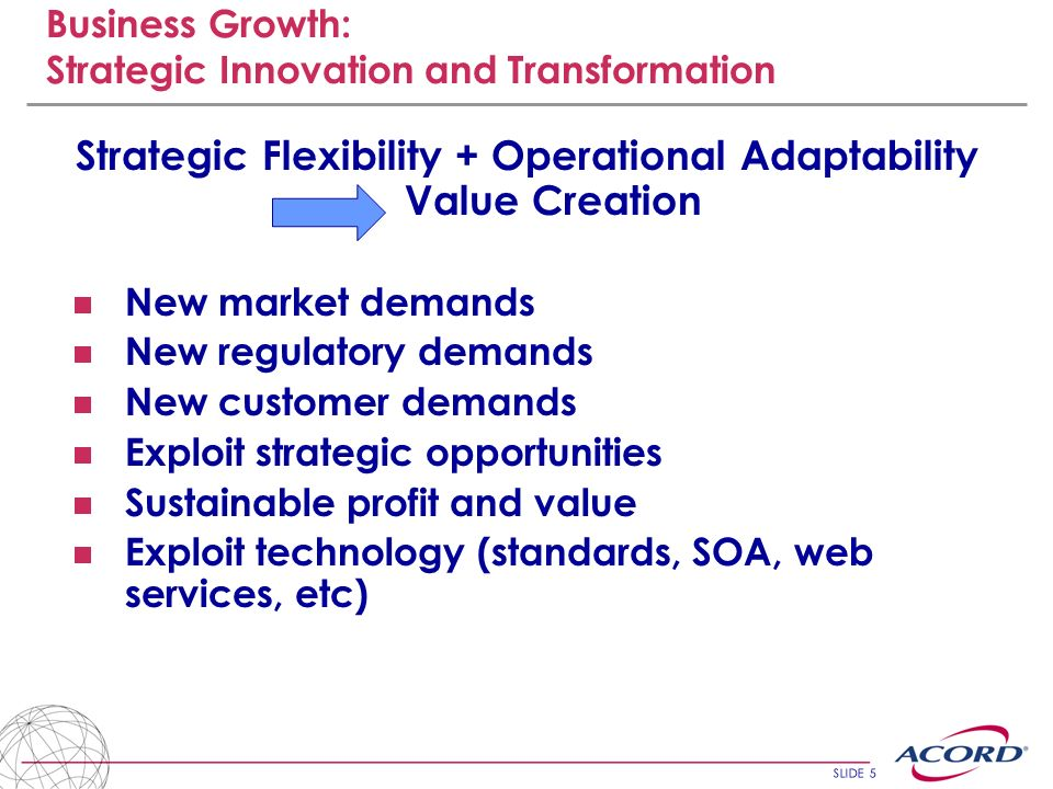 Business Growth: Strategic Innovation and Transformation