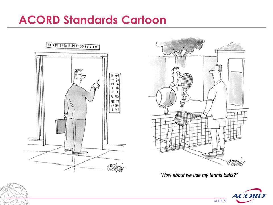 ACORD Standards Cartoon