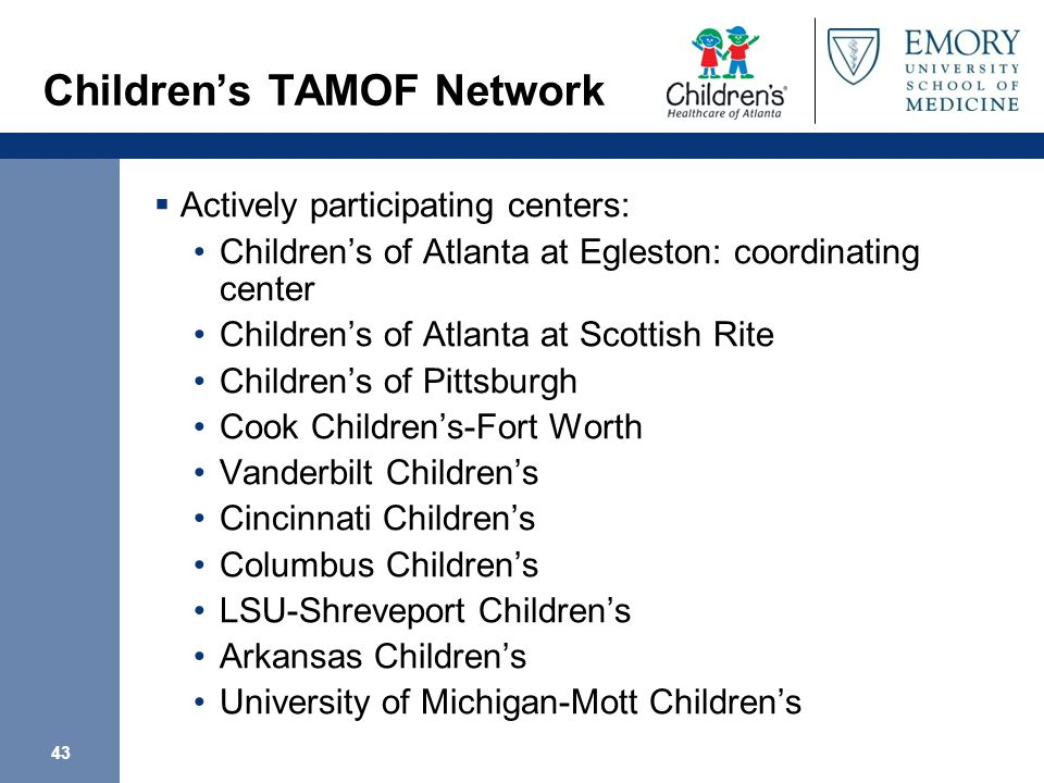Children's TAMOF Network