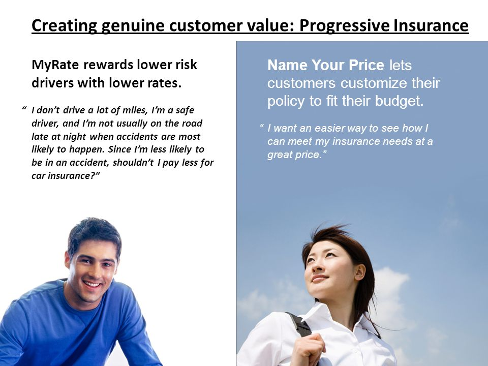 Creating genuine customer value: Progressive Insurance