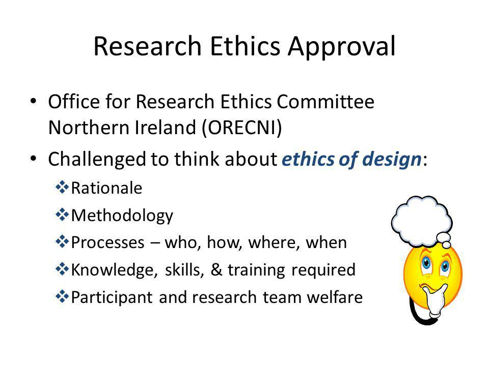 Research Ethics Approval
