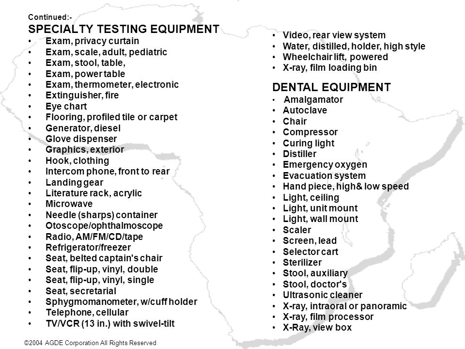 SPECIALTY TESTING EQUIPMENT