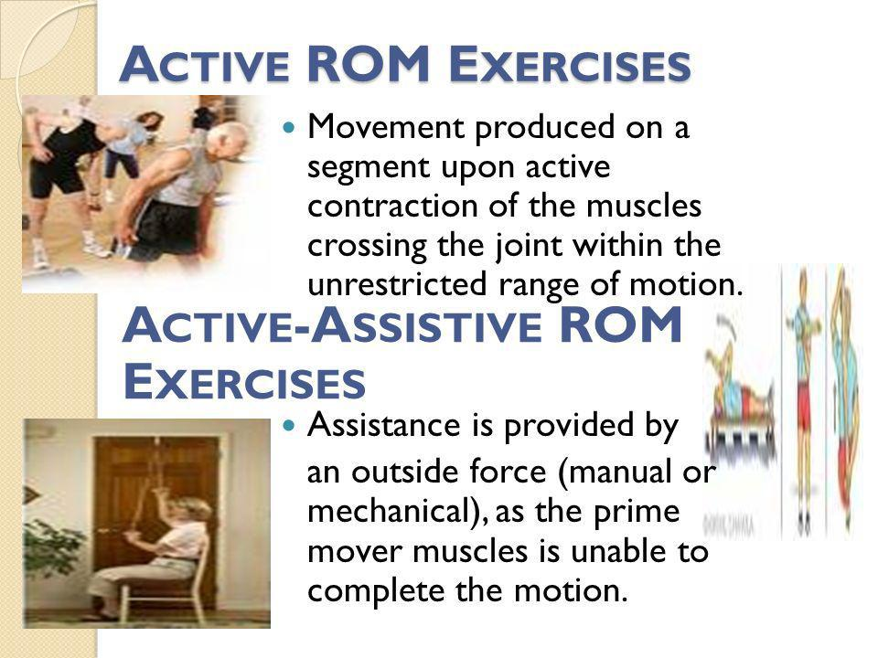 Active-Assistive ROM Exercises