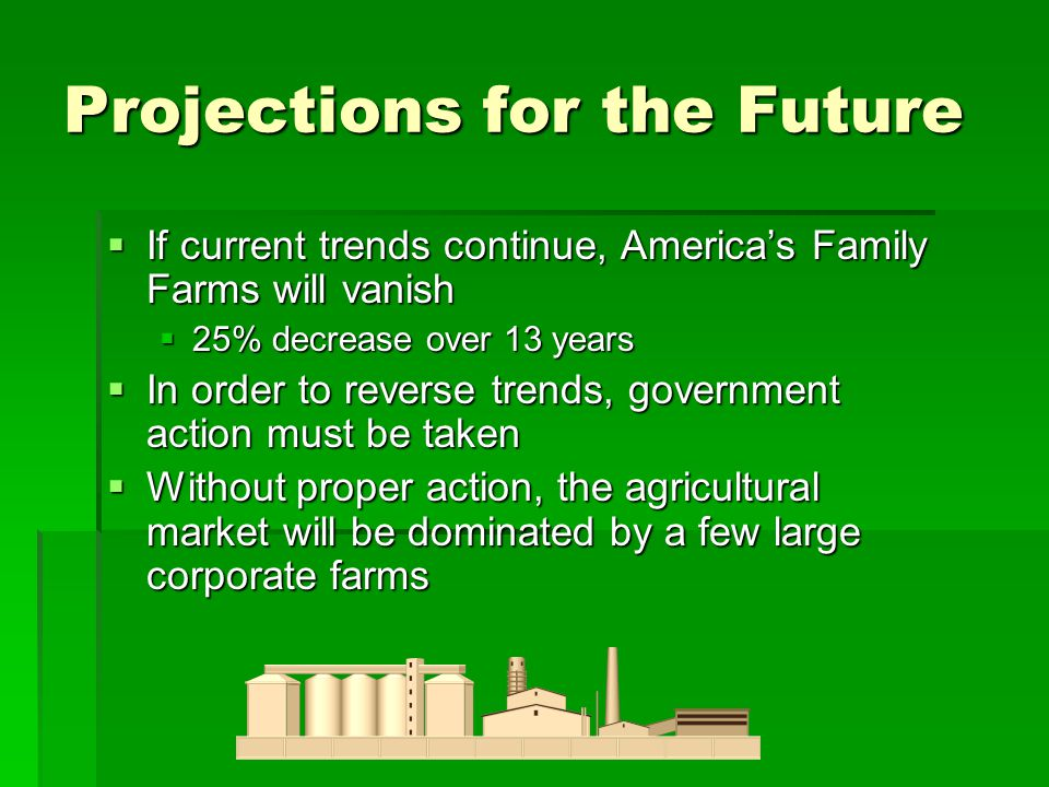 Projections for the Future
