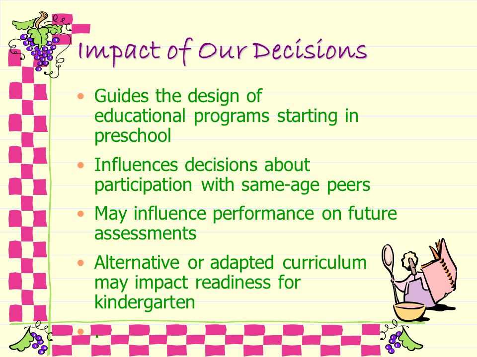 Impact of Our Decisions