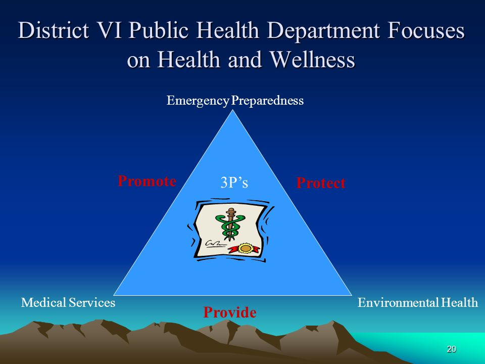 District VI Public Health Department Focuses on Health and Wellness