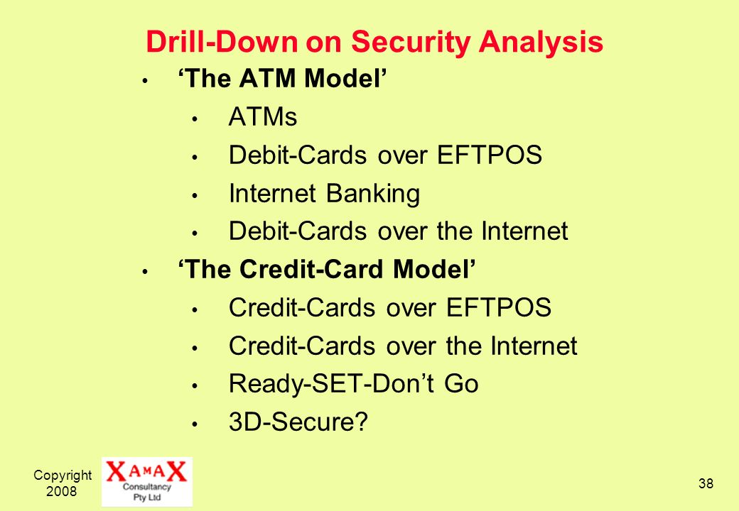 Drill-Down on Security Analysis