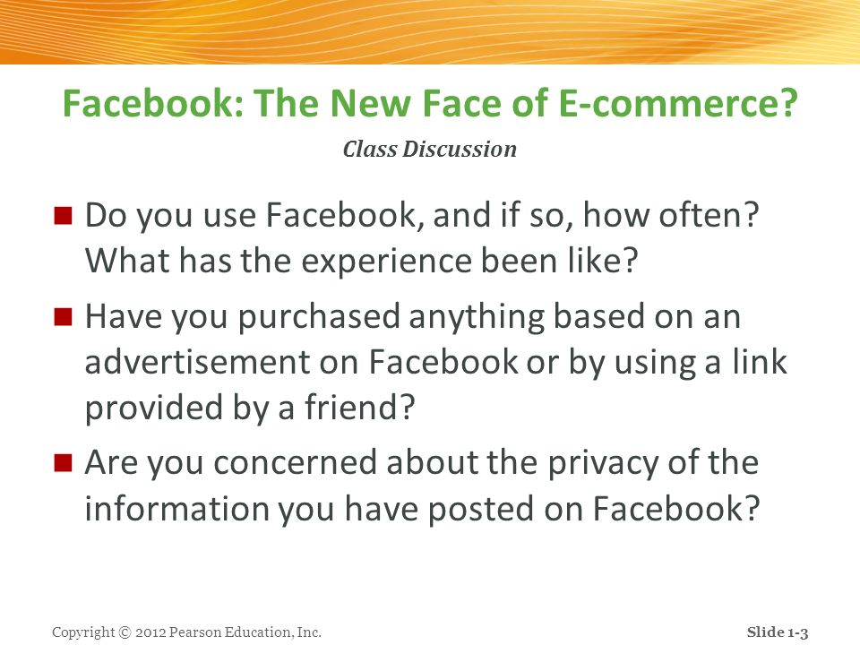 Facebook: The New Face of E-commerce