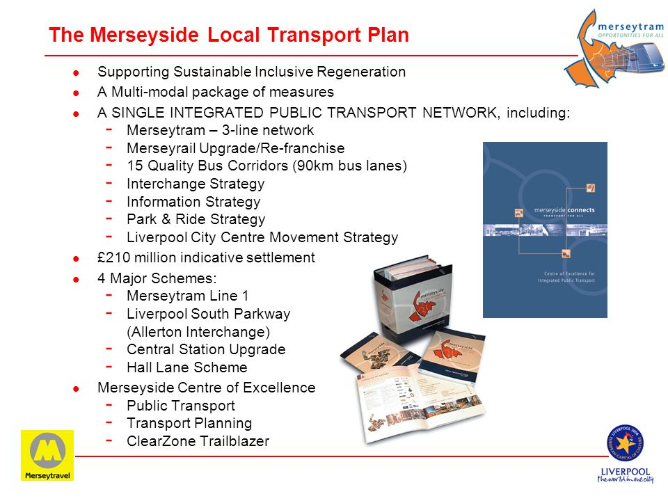 The Merseyside Local Transport Plan