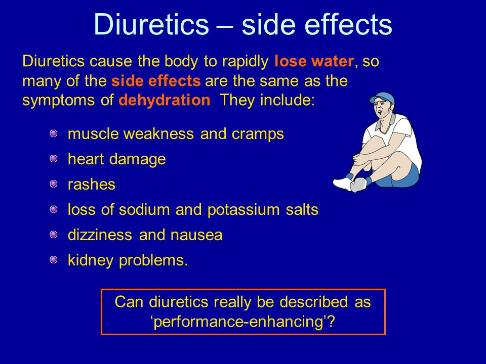 Diuretics – side effects