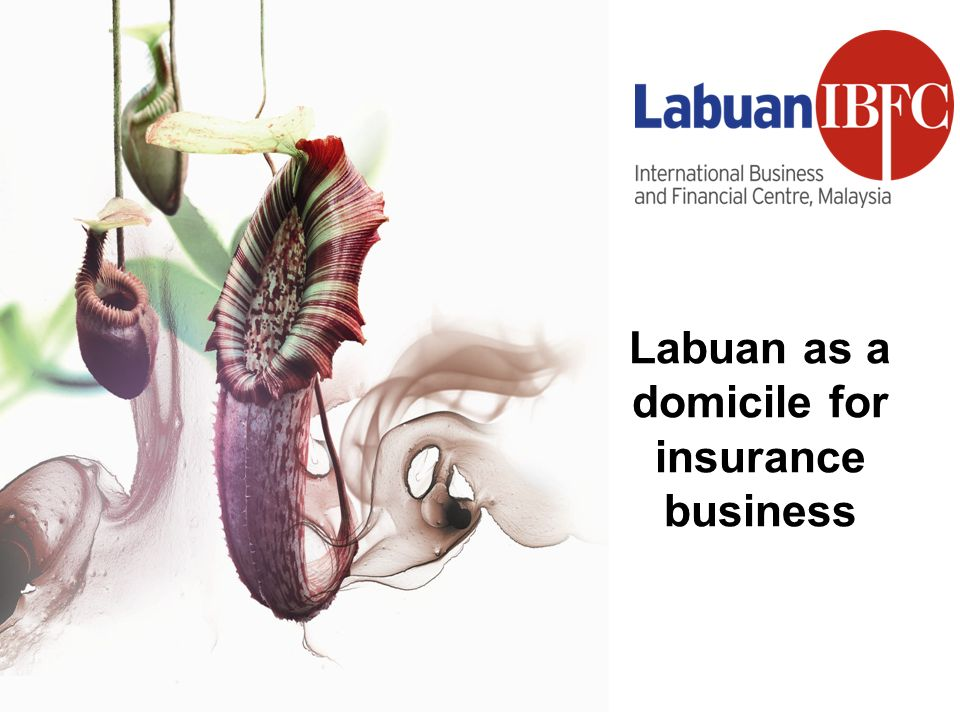 Labuan as a domicile for insurance business